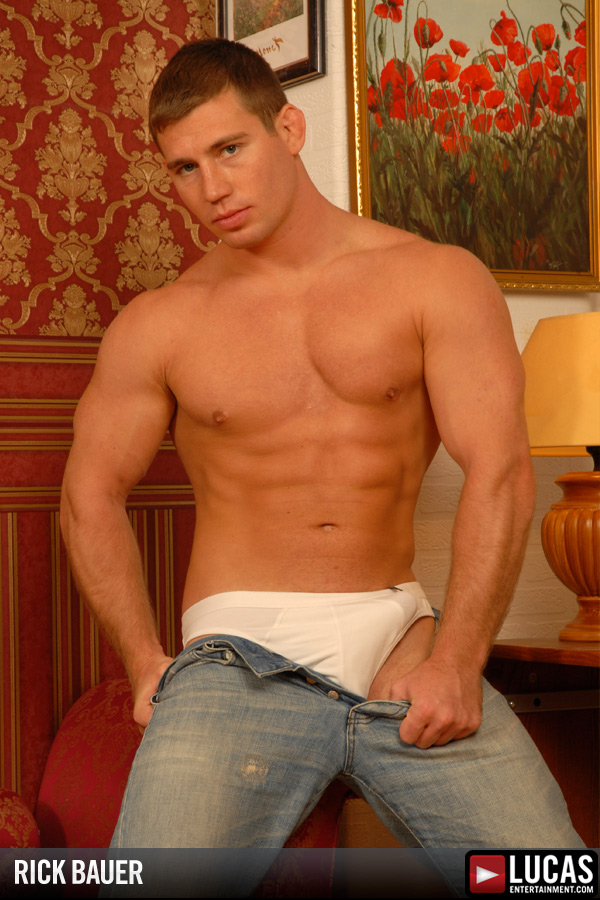 Rick Bauer - Gay Model - Lucas Entertainment
