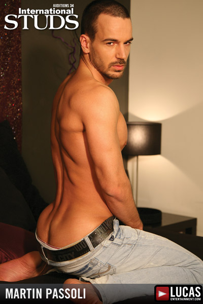 Martin Passoli - Gay Model - Lucas Entertainment