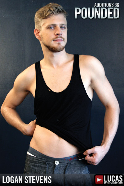 Logan Stevens - Gay Model - Lucas Entertainment