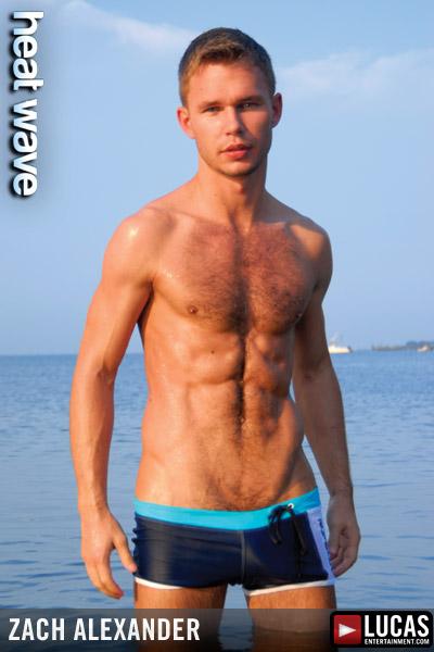 Zach Alexander - Gay Model - Lucas Entertainment