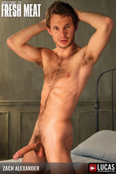 Zach Alexander - Gay Model - Lucas Entertainment
