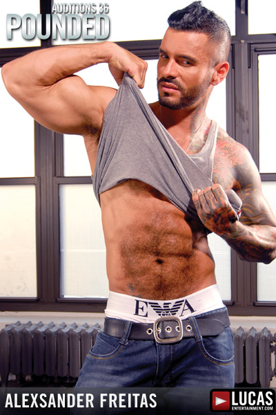 Alexsander Freitas - Gay Model - Lucas Entertainment