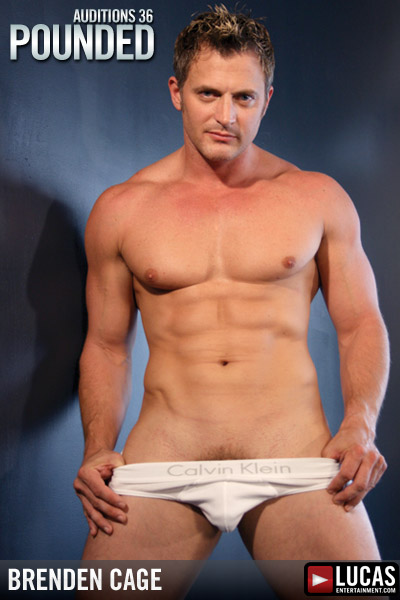 Brenden Cage - Gay Model - Lucas Entertainment