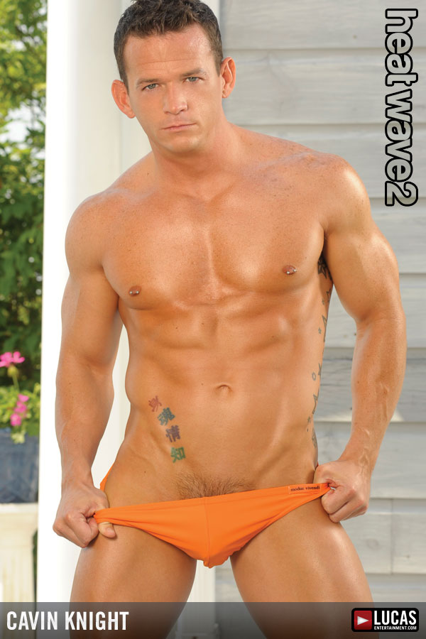 Cavin Knight - Gay Model - Lucas Entertainment