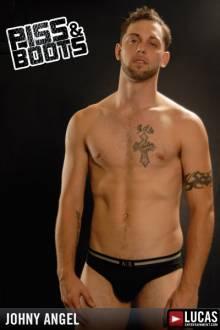 Johnny Angel - Gay Model - Lucas Entertainment