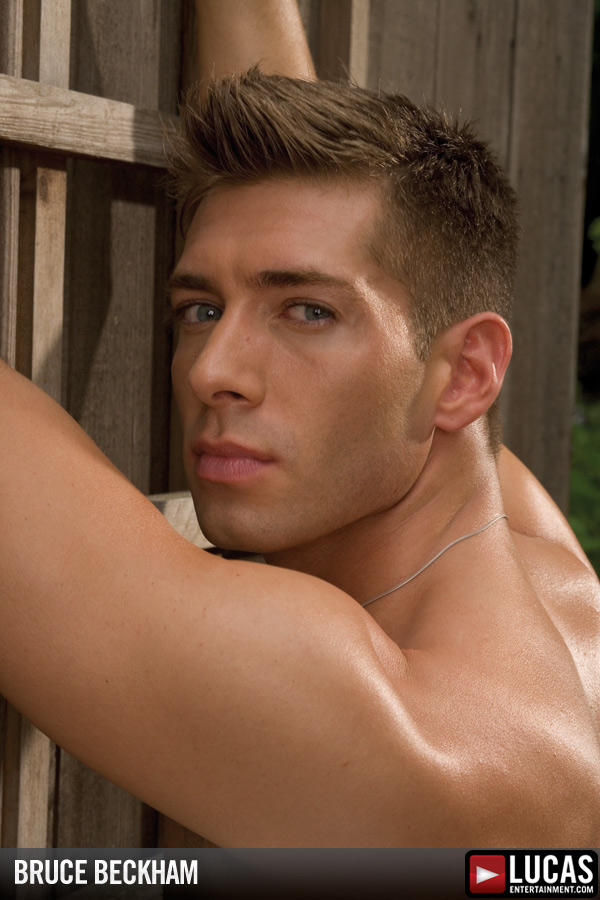 Bruce Beckham - Gay Model - Lucas Entertainment