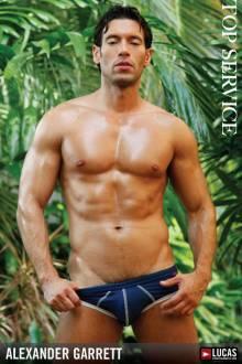 Alexander Garrett - Gay Model - Lucas Entertainment