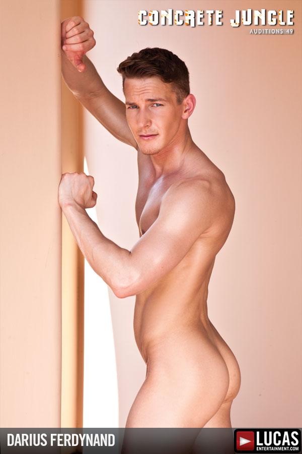 Darius Ferdynand - Gay Model - Lucas Entertainment