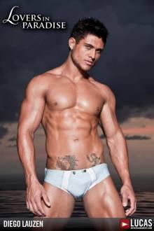 Diego Lauzen - Gay Model - Lucas Entertainment