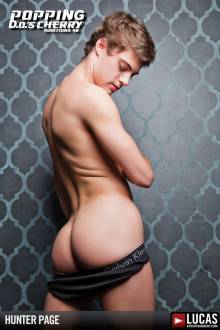Hunter Page - Gay Model - Lucas Entertainment