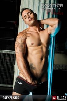 Lorenzo Star - Gay Model - Lucas Entertainment