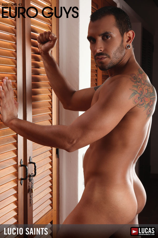 Lucio Saints - Gay Model - Lucas Entertainment