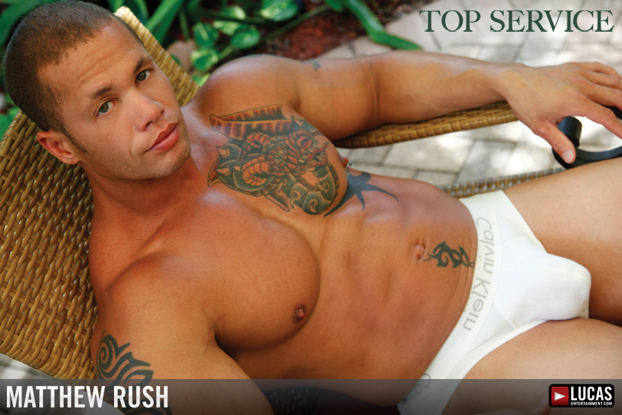 Matthew Rush - Gay Model - Lucas Entertainment