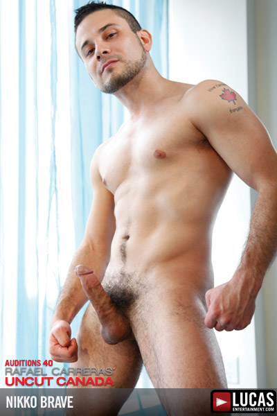 Nikko Brave - Gay Model - Lucas Entertainment