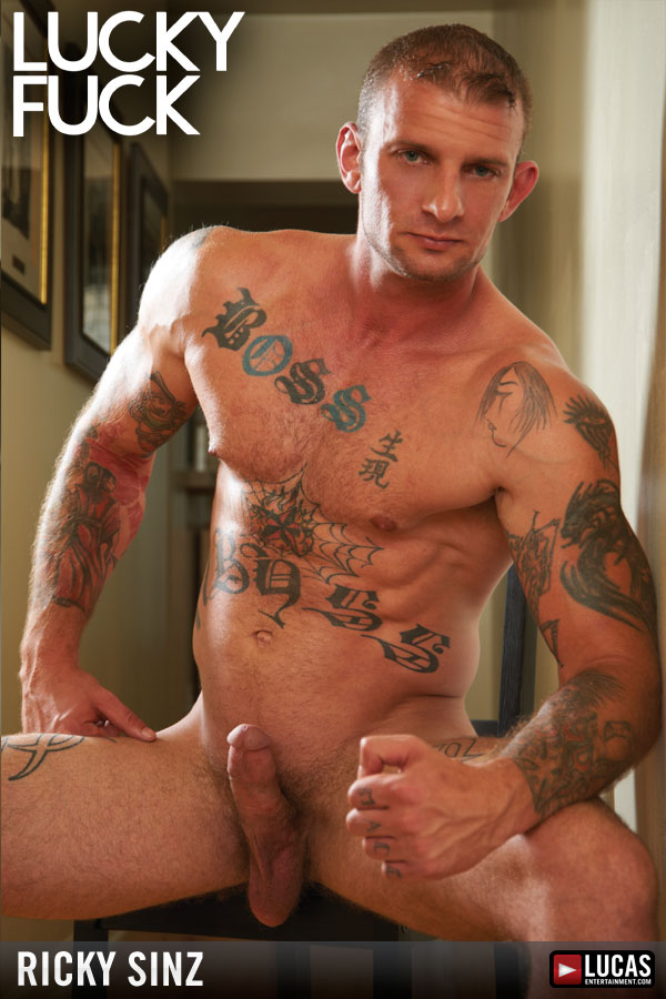 Ricky Sinz - Gay Model - Lucas Entertainment