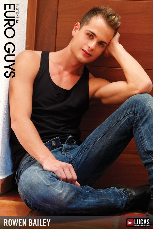 Rowen Bailey - Gay Model - Lucas Entertainment