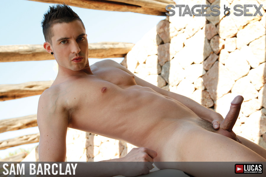 Sam Barclay - Gay Model - Lucas Entertainment