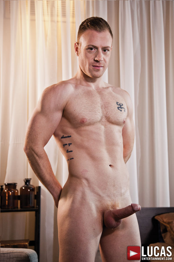 Saxton West - Gay Model - Lucas Entertainment