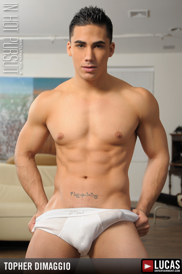 Topher DiMaggio - Gay Model - Lucas Entertainment