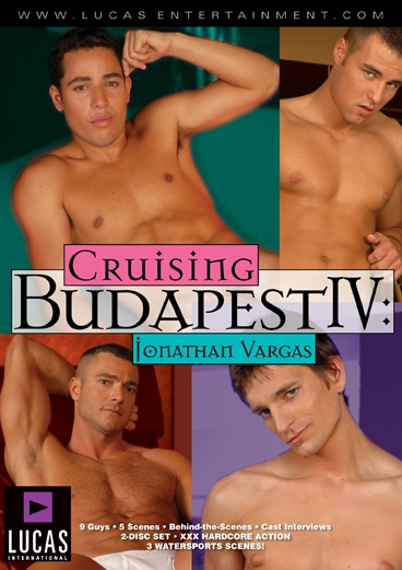 Cruising Budapest IV: Jonathan Vargas - Front Cover