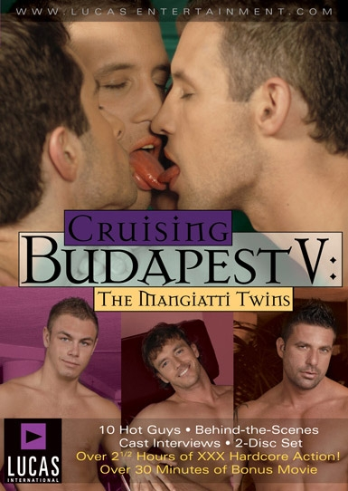 Cruising Budapest V: The Mangiattis - Front Cover