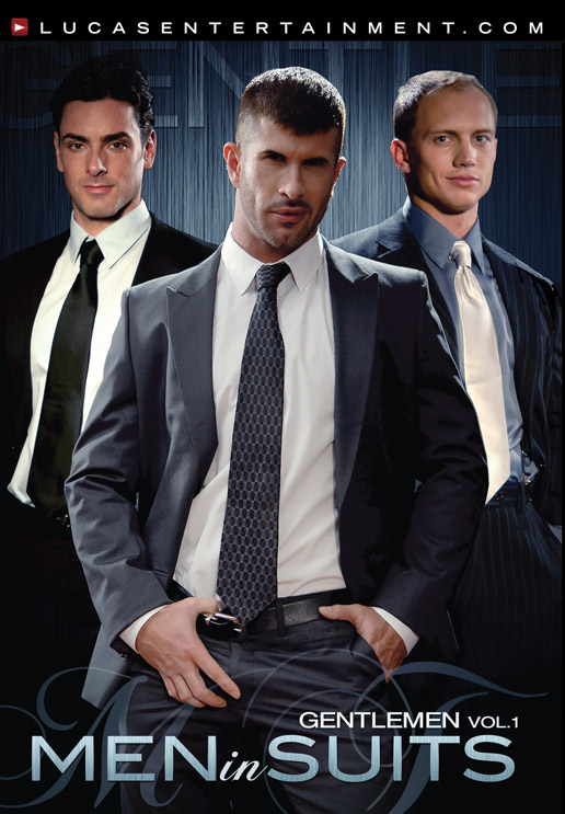 Gentlemen 01: Men in Suits - Front Cover
