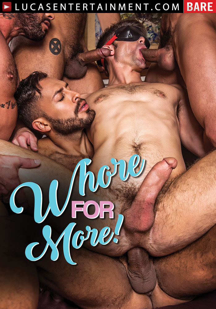 Whore For More - Front Cover
