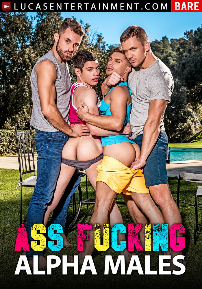 Ass-Fucking Alpha Males - Front Cover
