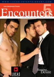 Encounters 5: Burning Desire Front Cover