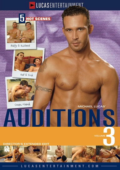 Auditions 03 - Front Cover