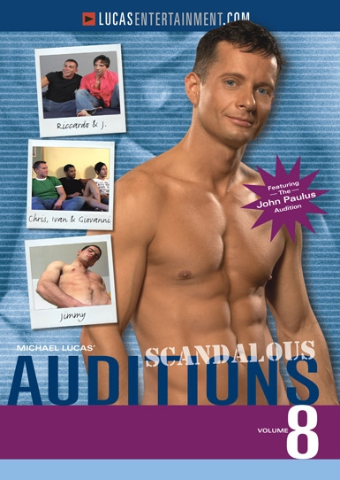 Auditions 08: Scandalous - Front Cover