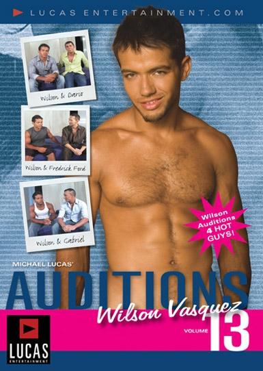 Auditions 13: Wilson Vasquez Front Cover