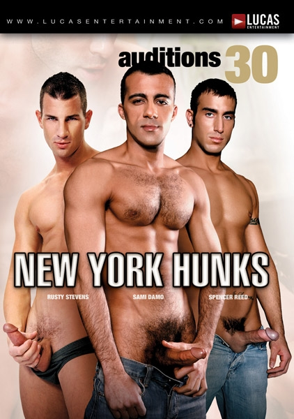 Auditions 30: New York Hunks Front Cover