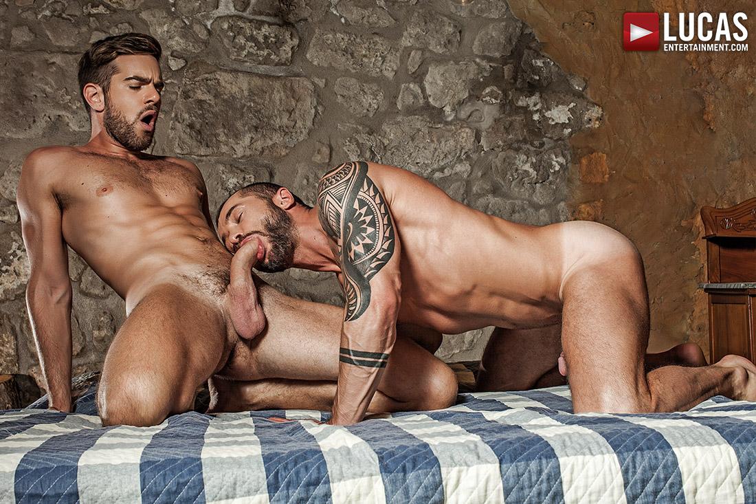 Zander Craze Bangs Tyler Berg In The Ass Raw - Gay Movies - Lucas Entertainment