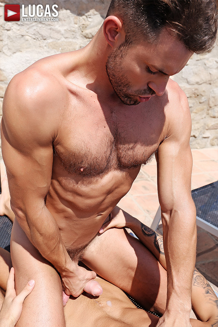 James Castle Bottoms For Alejandro Torres - Gay Movies - Lucas Entertainment