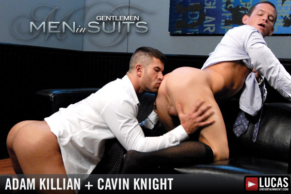 Gentlemen 01: Men in Suits - Gay Movies - Lucas Entertainment