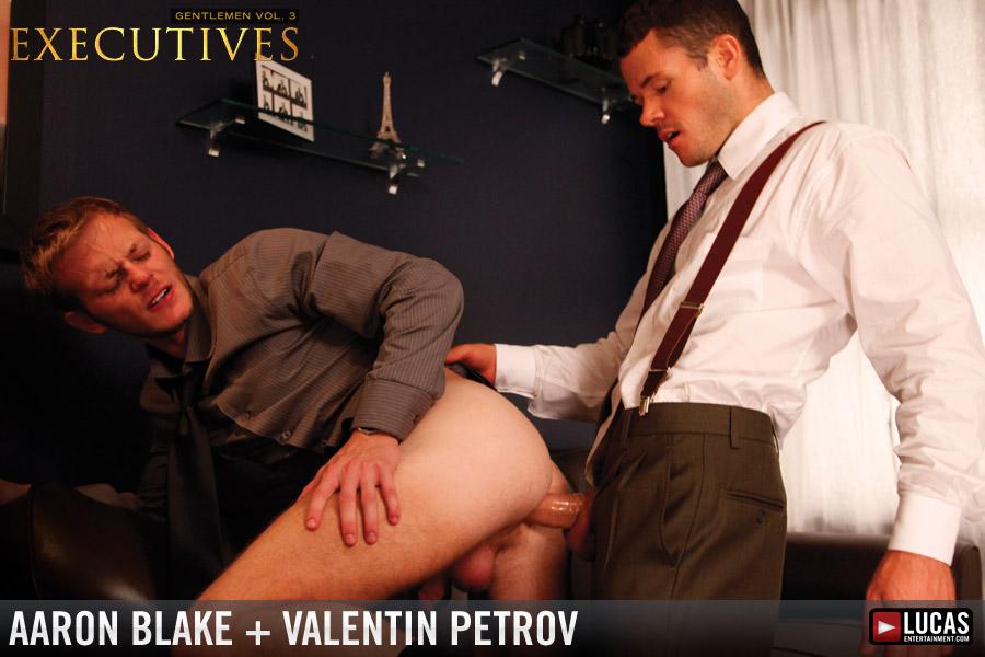 Valentin Petrov Fucks Twink Executive Aaron Blake - Gay Movies - Lucas Entertainment