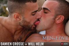 Will Helm Seduces Damien Crosse Overlooking the Sea - Gay Movies - Lucas Entertainment