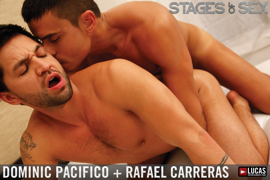 Lovers Rafael Carreras and Dominic Pacifico Have Passionate Sex - Gay Movies - Lucas Entertainment