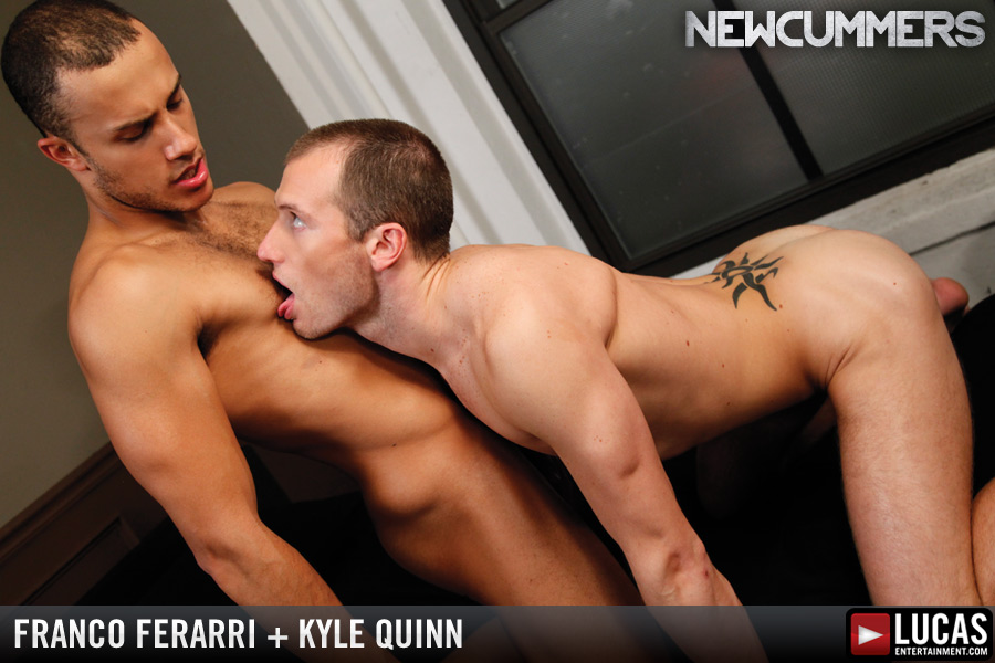 Young Hunks Franco Ferarri and Kyle Quinn Suck Cock and Flip-Fuck - Gay Movies - Lucas Entertainment