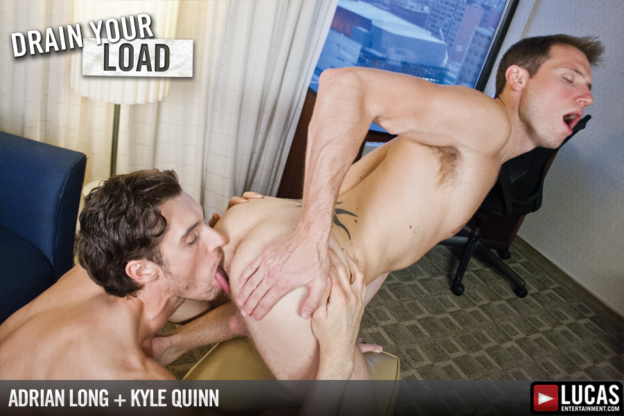Kyle Quinn and Adrian Long Suck and Fuck - Gay Movies - Lucas Entertainment