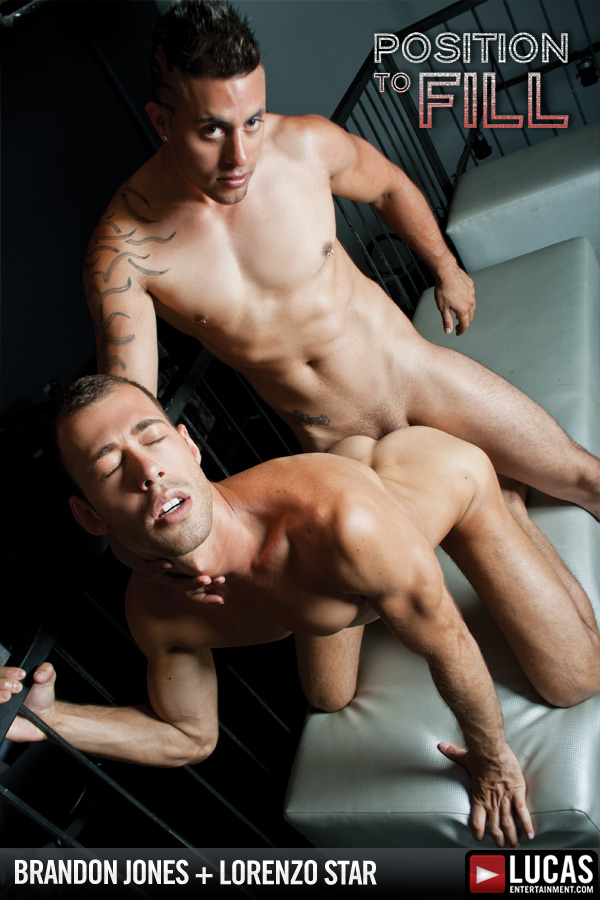 Brandon Jones and Lorenzo Star Flip-Fuck - Gay Movies - Lucas Entertainment