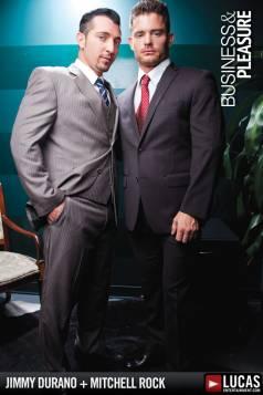 Jimmy Durano Interviews Hot Bottom Mitchell Rock - Gay Movies - Lucas Entertainment
