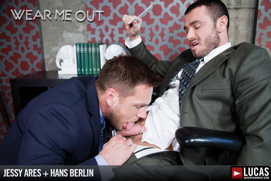 Hans Berlin Services Jessy Ares for a Raise - Gay Movies - Lucas Entertainment
