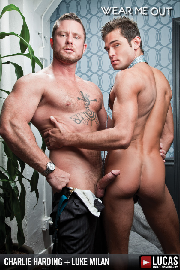 Charlie Harding Reprimands Intern Luke Milan - Gay Movies - Lucas Entertainment
