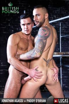 Jonathan Agassi Takes Every Inch of Paddy O