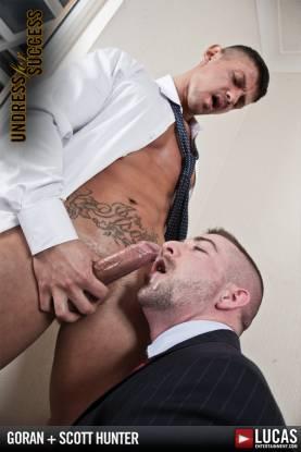 Scott Hunter and Goran Have a Nighttime Affair - Gay Movies - Lucas Entertainment