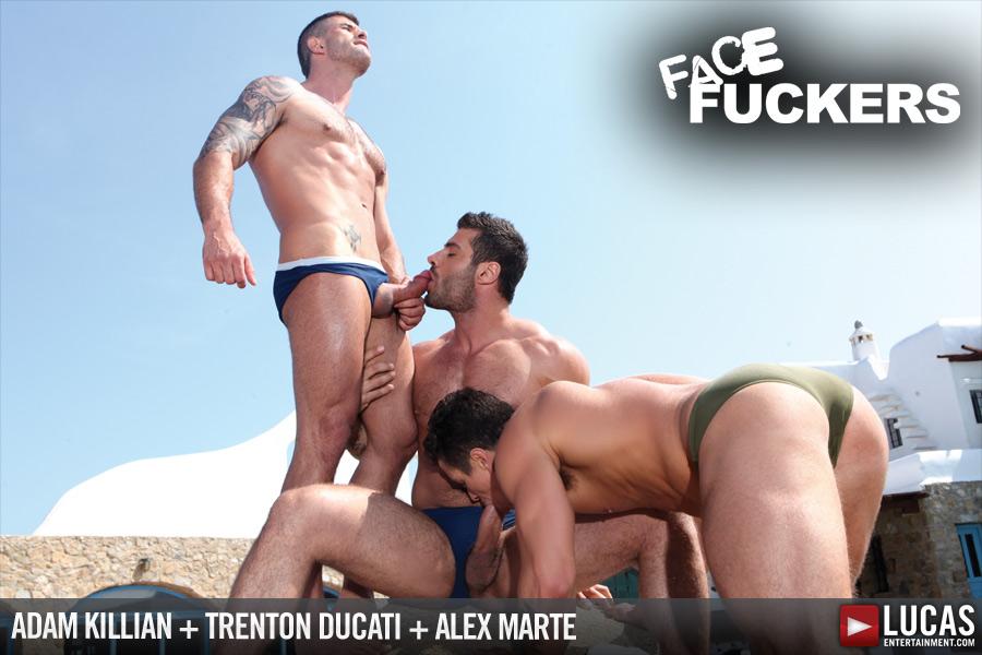 Face Fuckers - Gay Movies - Lucas Entertainment