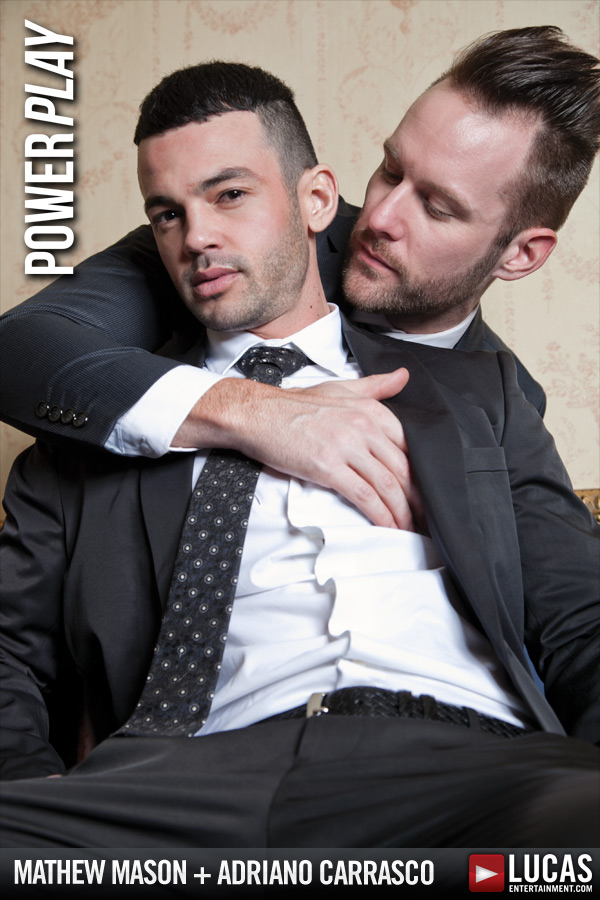 Mathew  and Adriano Blow Their Loads - Gay Movies - Lucas Entertainment