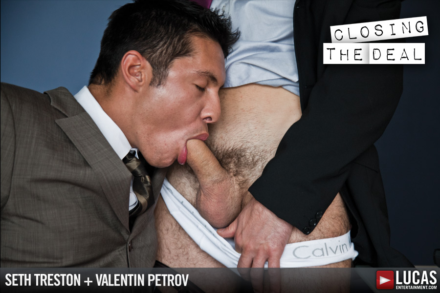 Gentlemen 09: Closing the Deal - Gay Movies - Lucas Entertainment